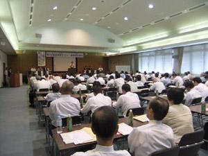 第16回宮崎県タクシー乗務員研修会の模様1